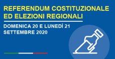 Refrendum e Elezioni Regionali 2020