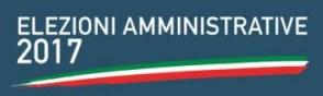 Elezioni Amministrative 11 Giugno 2017